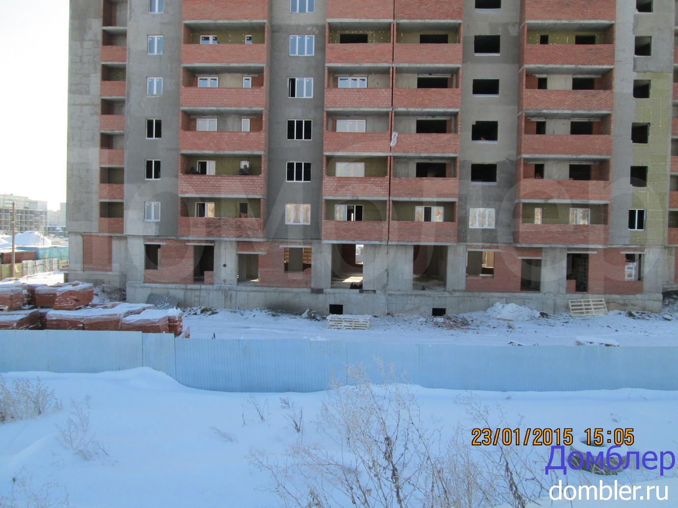 О завершении строительства многоквартирного жилого дома в 4 микрорайоне поселка заозерный
