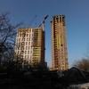 10.04.2015. ЖК «Панорама». Секция А (20 этажей) и Б (25 этажей)