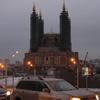 06.03.2015. ЖК «Альтаир». Вид на строящуюся мечеть